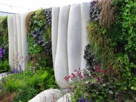 Różnorodne gatunki bylin i traw ozdobnych w bogatej kolorystyce liści