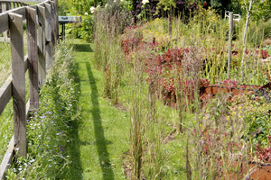 Jeśli ogród nie ma betonowej podmurówki lub innej zapory, chwasty z łatwością wysieją się lub za pomocą rozłogów rozprzestrzenią na nasz ogród