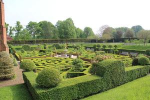 Ozdobny ogród bukszpanowy