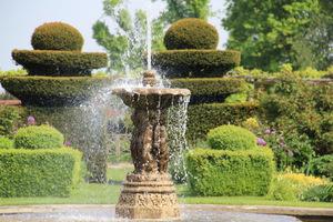 Widowiskowa fontanna na wietrze