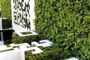 The QR Code garden