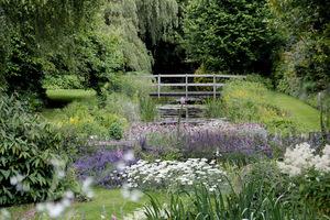 Gooderstone Water Gardens zupełnie się różnił od ogrodów, jakie zwykle lubię oglądać w Anglii