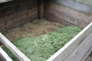 Skoszona trawa jest bogatym źródłem próchnicy i szybko się rozkłada