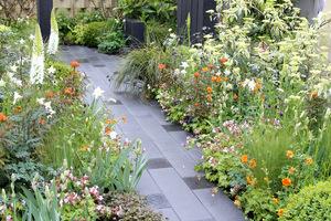 Ścieżki ogrodowe stale nam towarzyszą i są niezbędne, zwłaszcza w czasie deszczu