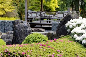 Zwróćcie uwagę na typową, japońską balustradę