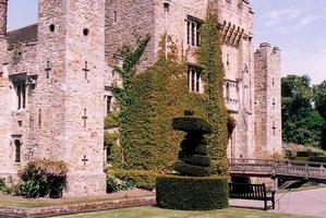 Hever Castle, dom  Anny Boleyn, jednej z żon Henryka VIII