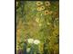 """Obraz """"Wiejski ogród ze słonecznikami"""""""