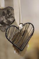 Serce z drucikami