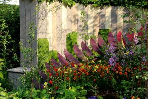 Jedno z najbardziej efektownych ogrodzeń, jakie widziałam