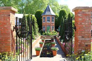 The Harrods British Eccentrics Garden, projekt Diarmuid Gavin
