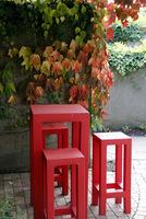 Proste stołki-siedziska