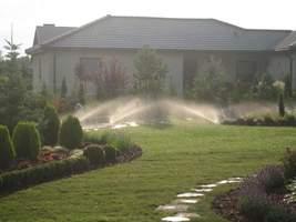 Działa już nawadnianie ogrodu