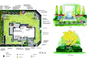 Projekt Gardenarium: w nowoczesnym ogrodzie warto stosować duże pasy/plamy gatunków i kolorów