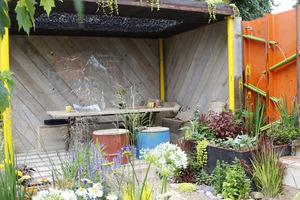 Ogród z odzysku może wyglądać bardzo interesująco, a co ważne niewiele kosztuje