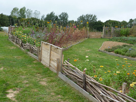 Nowy ogród warzywny w Sissinghurst został stworzony całkiem niedawno