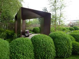 Zawsze podobały mi się ogrody nowoczesne