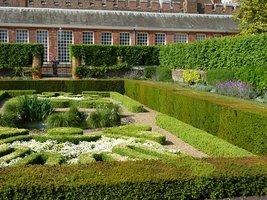 Niewielki ogród ozdobny