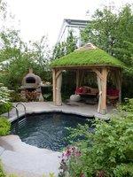 Altana z grillem to znakomite rozwiązanie dla wielbicieli gotowania w ogrodzie