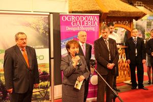 Uroczyste otwarcie targów Plantexpo w Łodzi