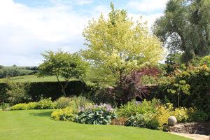 Jest to ogród obsadzony silną strukturą, aby przetrwała zimę, oraz specjalnymi gatunkami roślin, które dodają blasku i intrygują w każdym miesiącu w roku