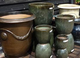 Donice ceramiczne szkliwione, fot. Danuta Młoźniak