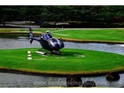 Philippines mt malarayat golf and country club helipad helicopter