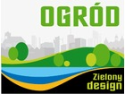 Ogrod zielony design grafika