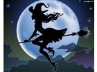 Ksiezyc miotla czarownica