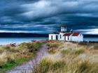Beach picture lighthouse storm wildpianist